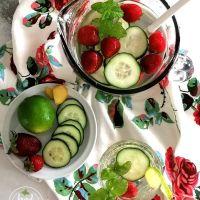 Água Aromatizada... saudável e refrescante
