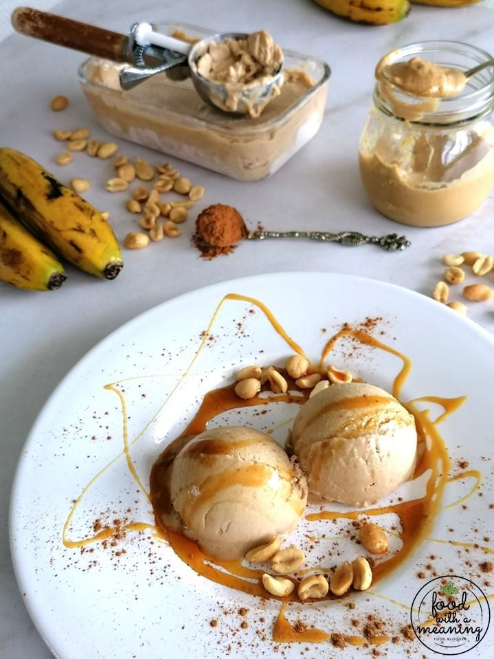 Gelado de Amendoim e Banana com canela2