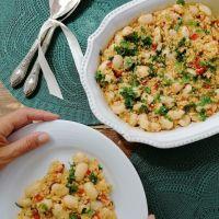 Salada de Feijoca com Bulgur
